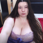 Huge boobs babe live on cam